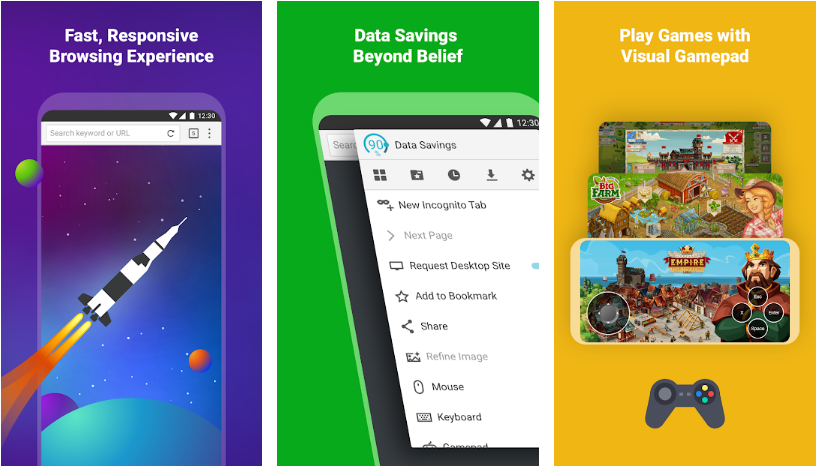 5 web browser alternatives to Chrome and Firefox on Android