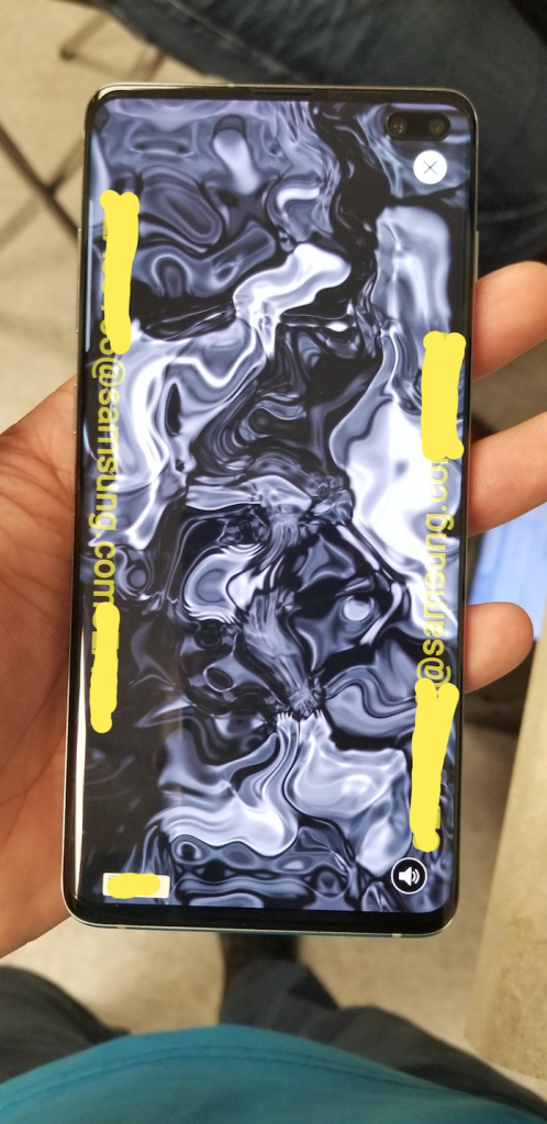 Samsung Galaxy S10 Spotted In The Wild