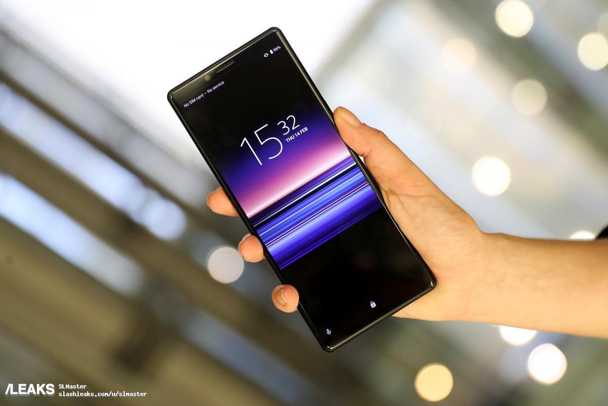 Sony Xperia 1 leak reveals the phone's triple camera