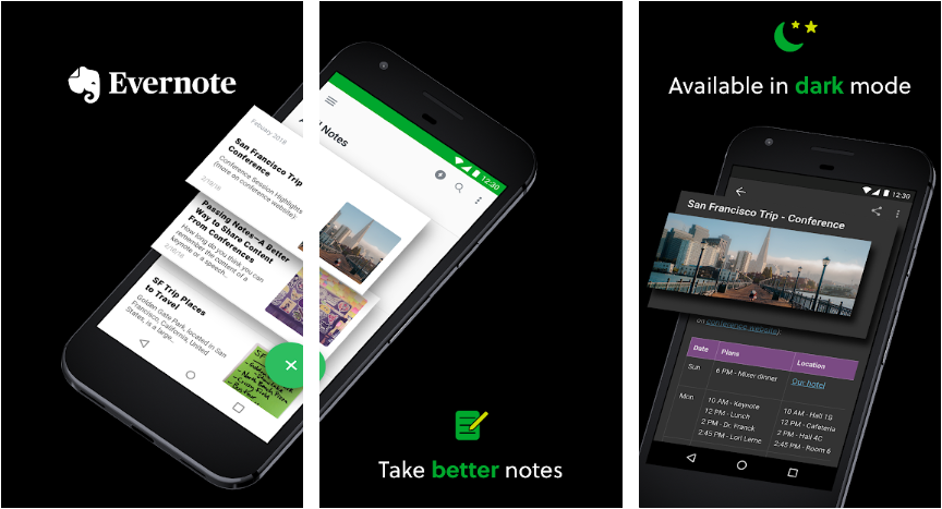 5 Great Note Taking Apps For Android
