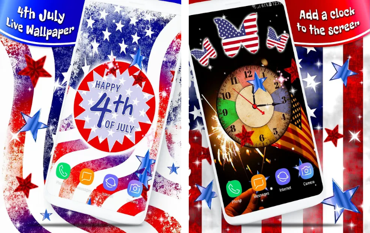 5 great apps to celebrate the 4th of july - Fourth of july live wallpaper ...