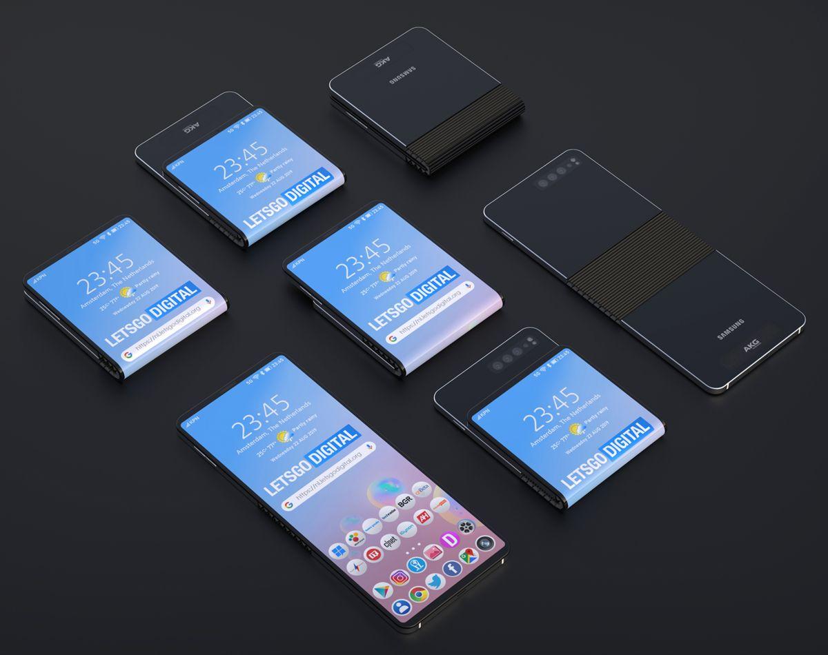The Samsung Galaxy Fold 2 could challenge Motorola's Razr foldable phone