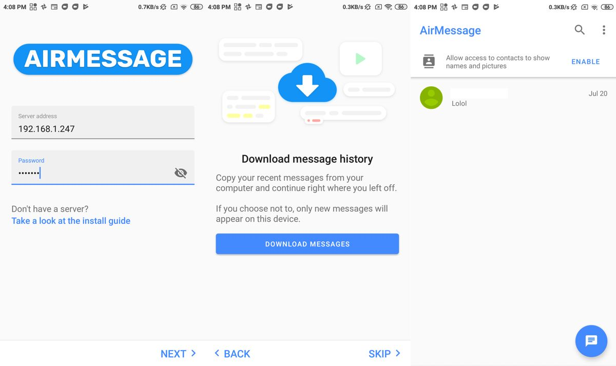 How To Get iMessage On Your Android smartphone or tablet