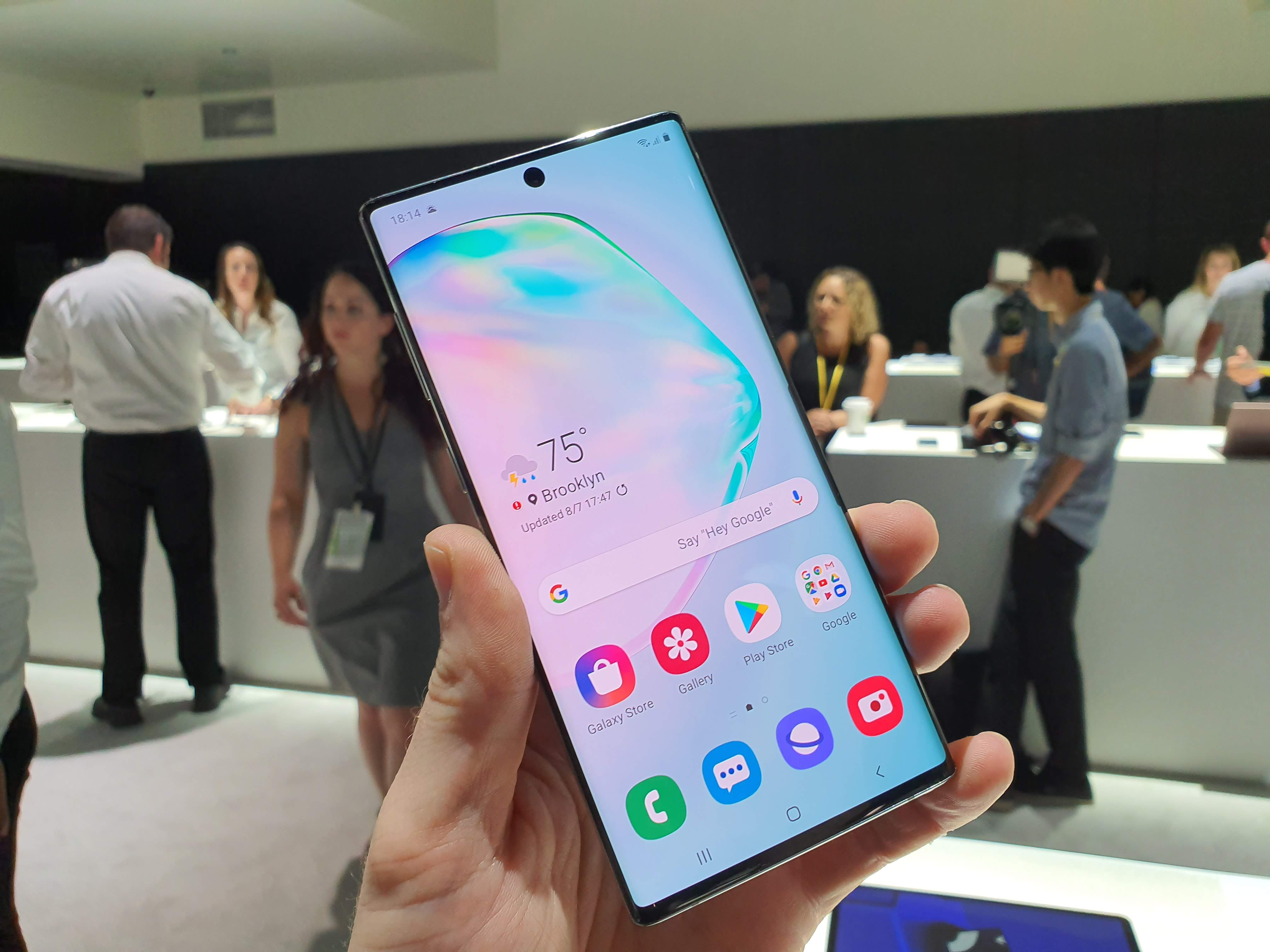 Samsung Galaxy Note 10 with Android 10 already being tested