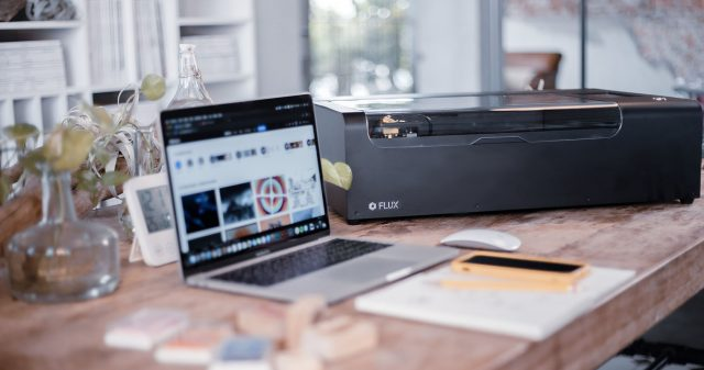 FLUX unveils beamo, a compact and affordable laser cutter for the mass