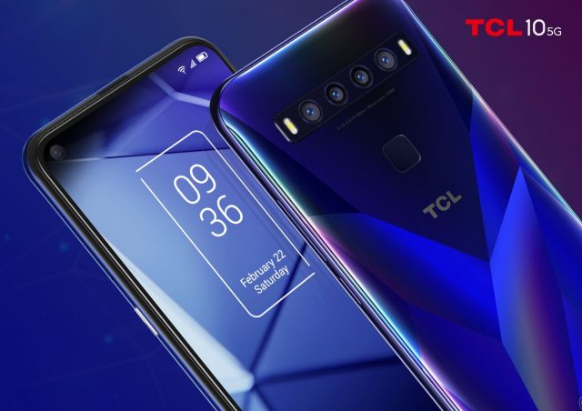 TCL announces their first 5G smartphone