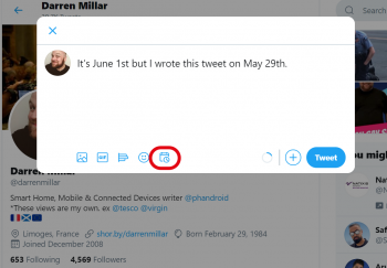 How To Schedule A Tweet Natively On Twitter