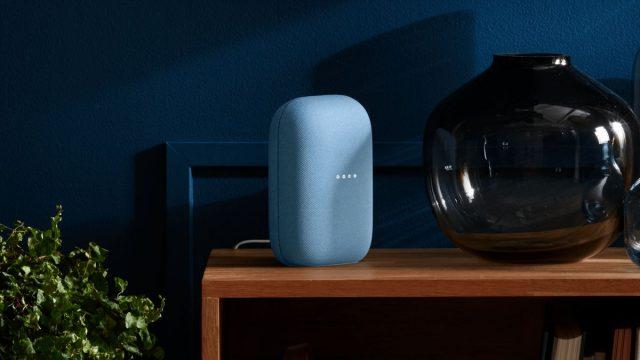 This is what Google's new Nest speaker looks like
