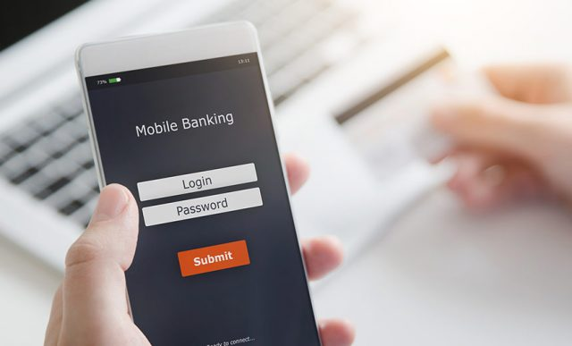 mobile banking of sbh