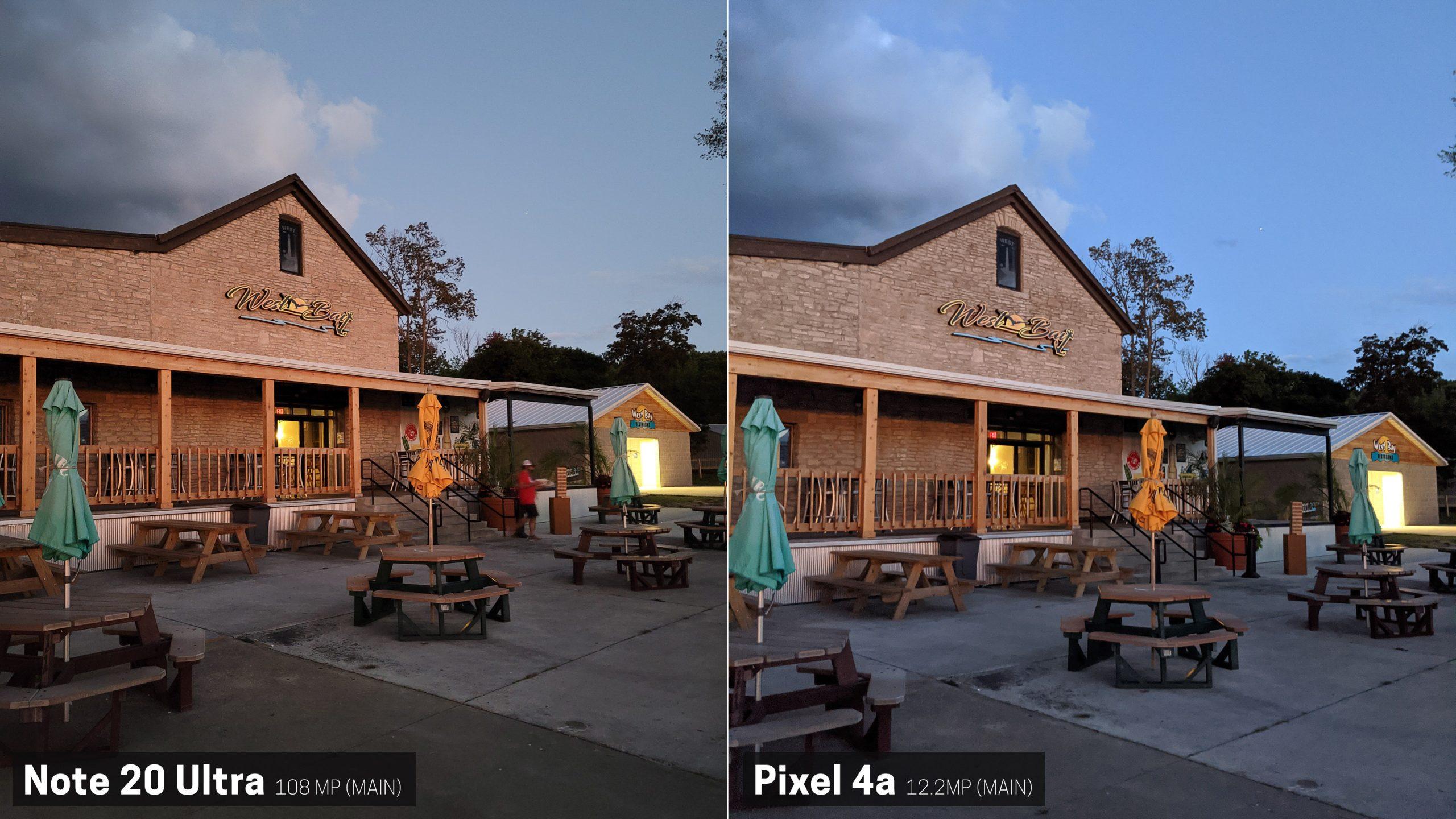 Pixel 4a versus Galaxy Note 20 ultra camera comparison ...