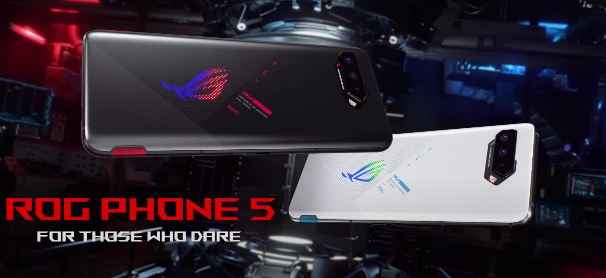 The ASUS ROG Phone 5 has at last advanced toward the US