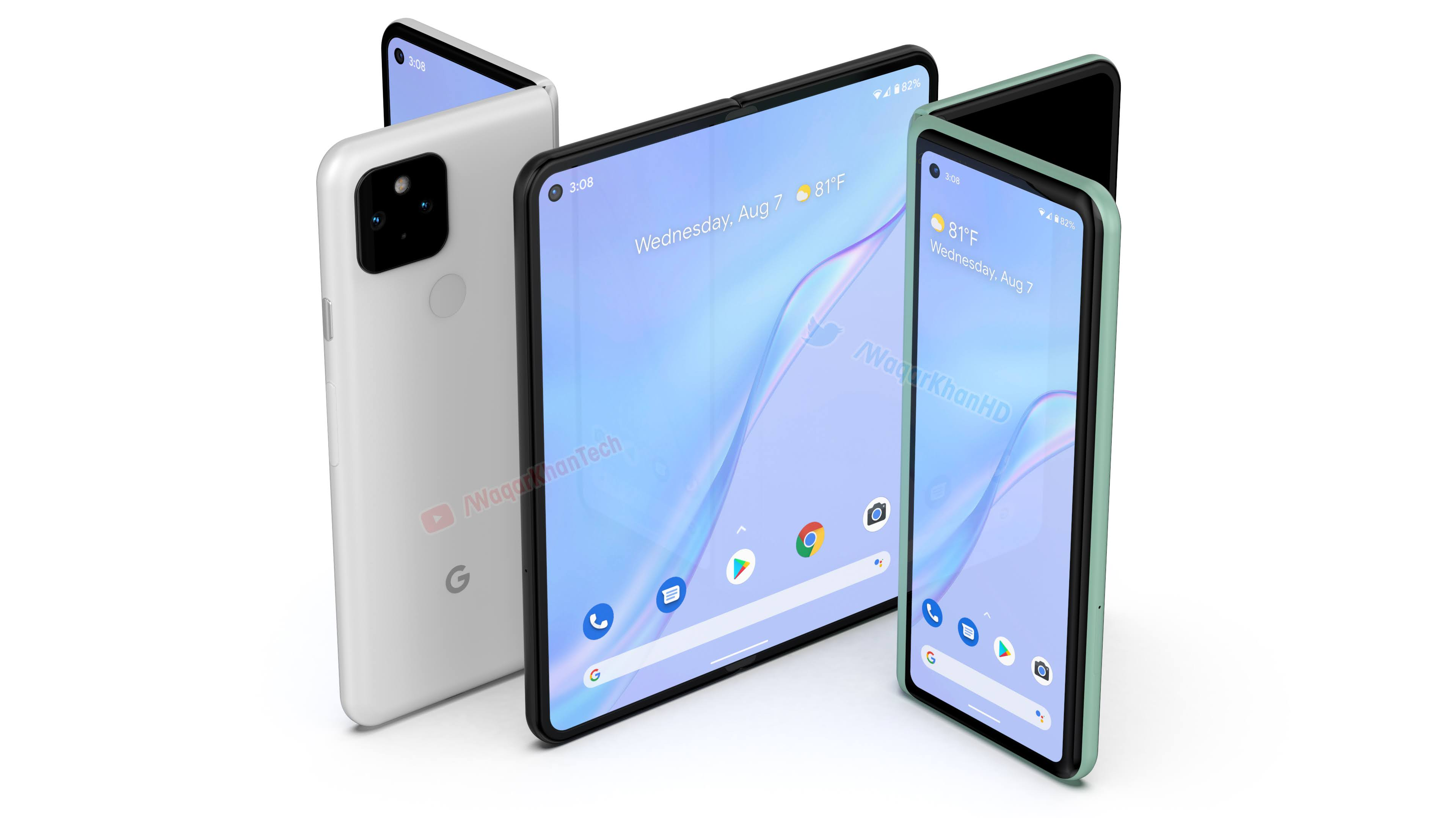 Idea renders show what the Google Pixel Fold could resemble