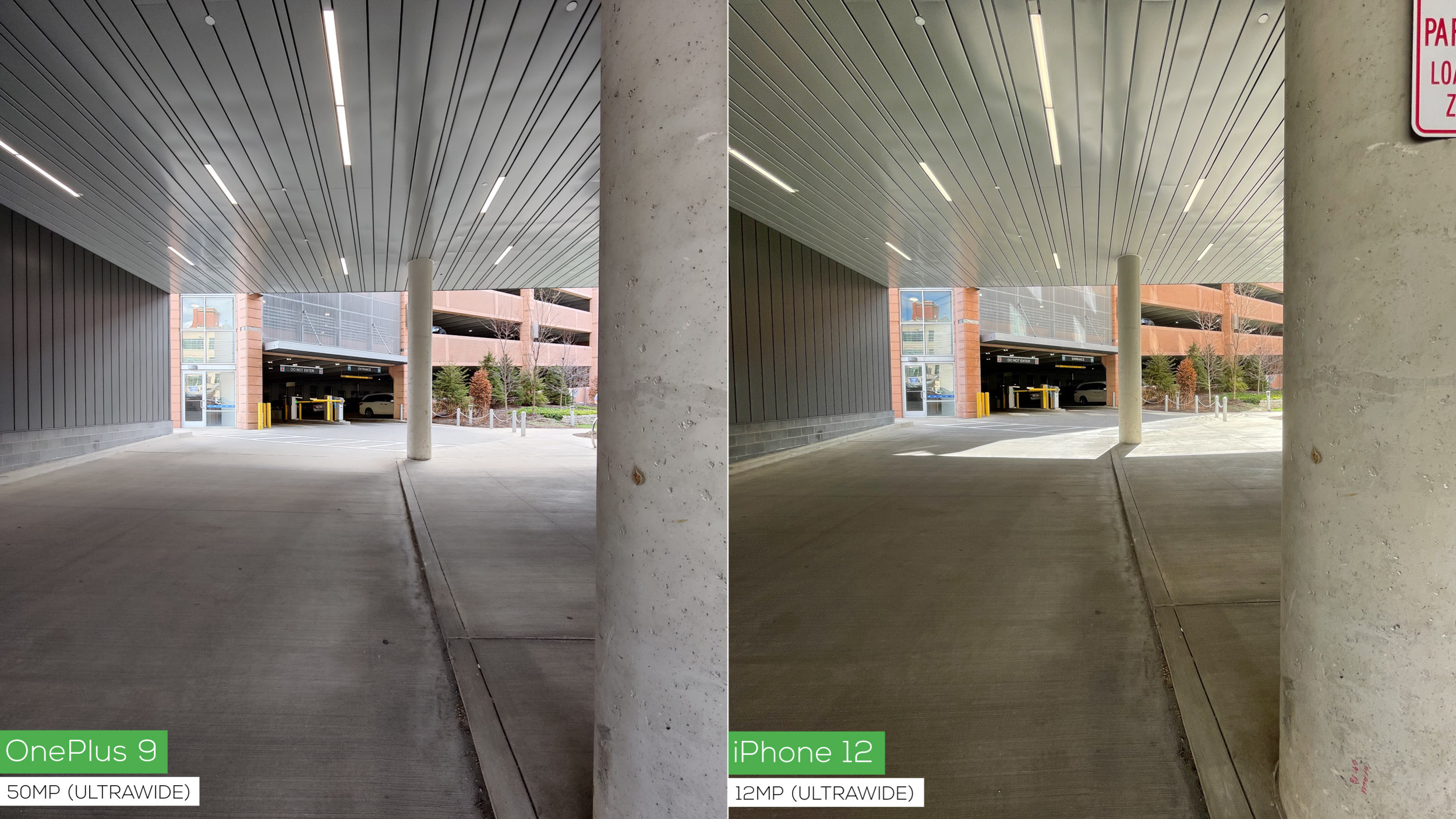 OnePlus 9 versus iPhone 12 camera comparison: two steps forward, one step back