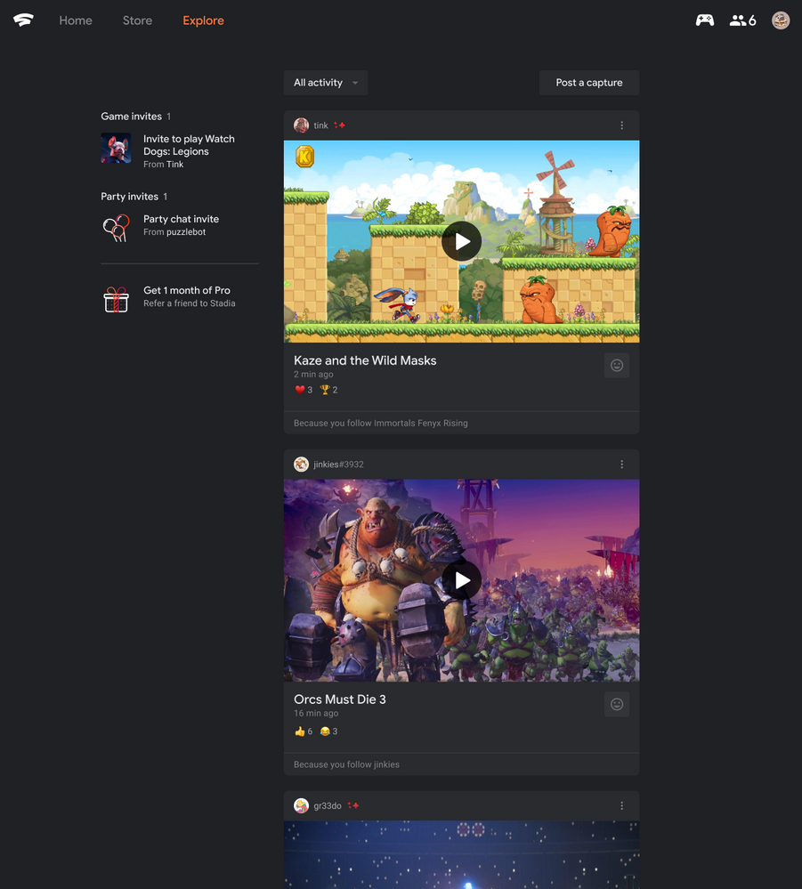 The world's search giant finally adds search to Stadia