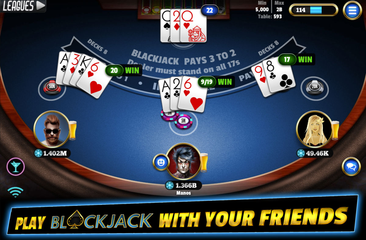 Top 5 Blackjack Games for Android in 2021