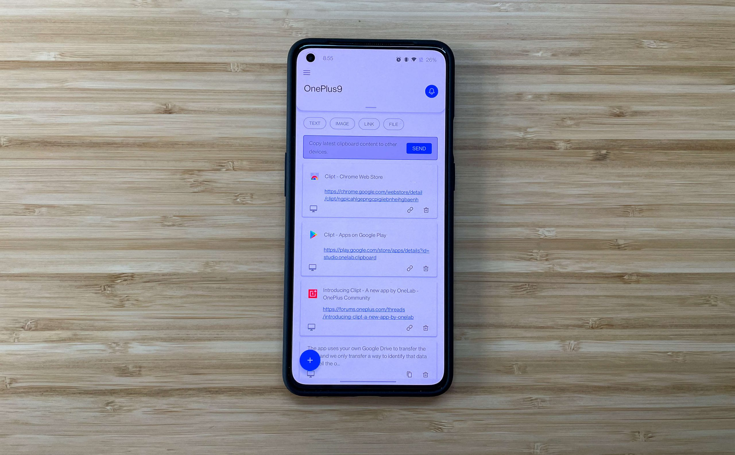 OnePlus' OneLab launches Clipt for your cross-stage clipboard needs