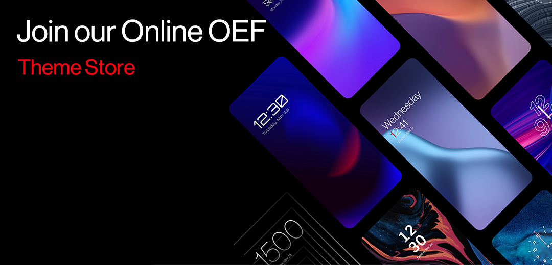 OnePlus is adding a Theme Store to the following variant of OxygenOS