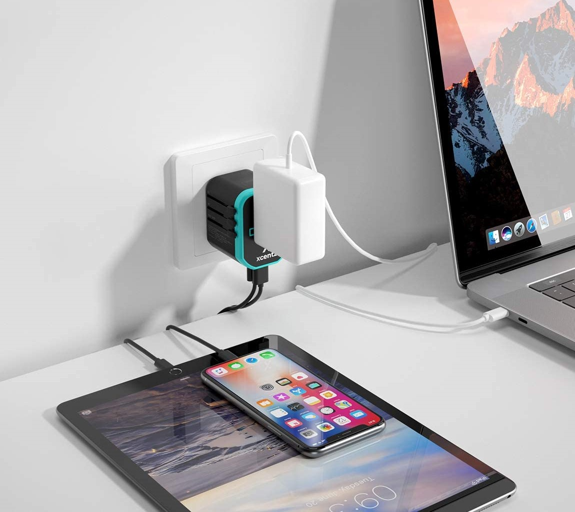 Xcentz universal Power Adapter International 2