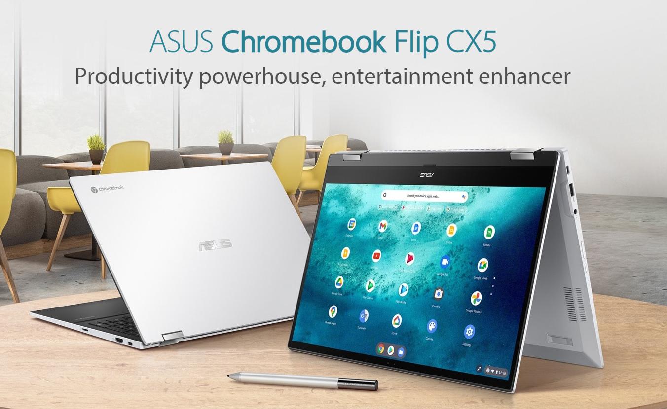 ASUS Chromebook Flip CX5 Hero