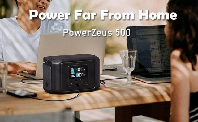 Aukey's PowerZeus 500 is the perfect companion for your next camping trip – Phandroid