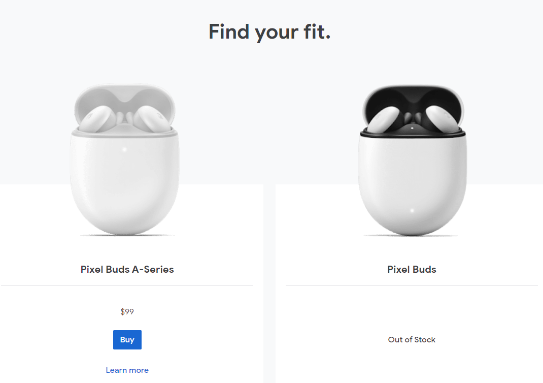 """Google says """"farewell"""" to the 2020 Pixel Buds"""