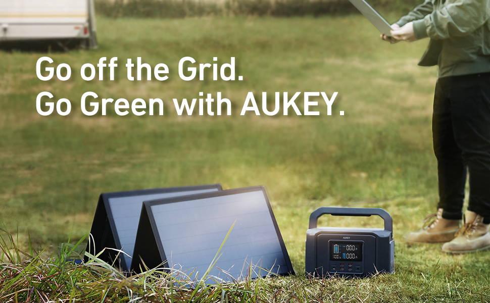 aukey solar