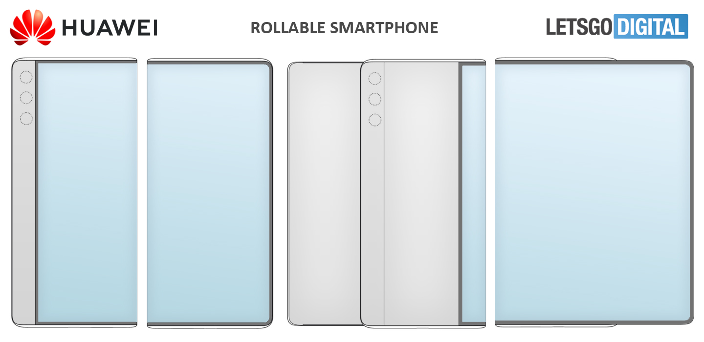 Patent filings recommend Huawei is dealing with a 11-inch rollable phone