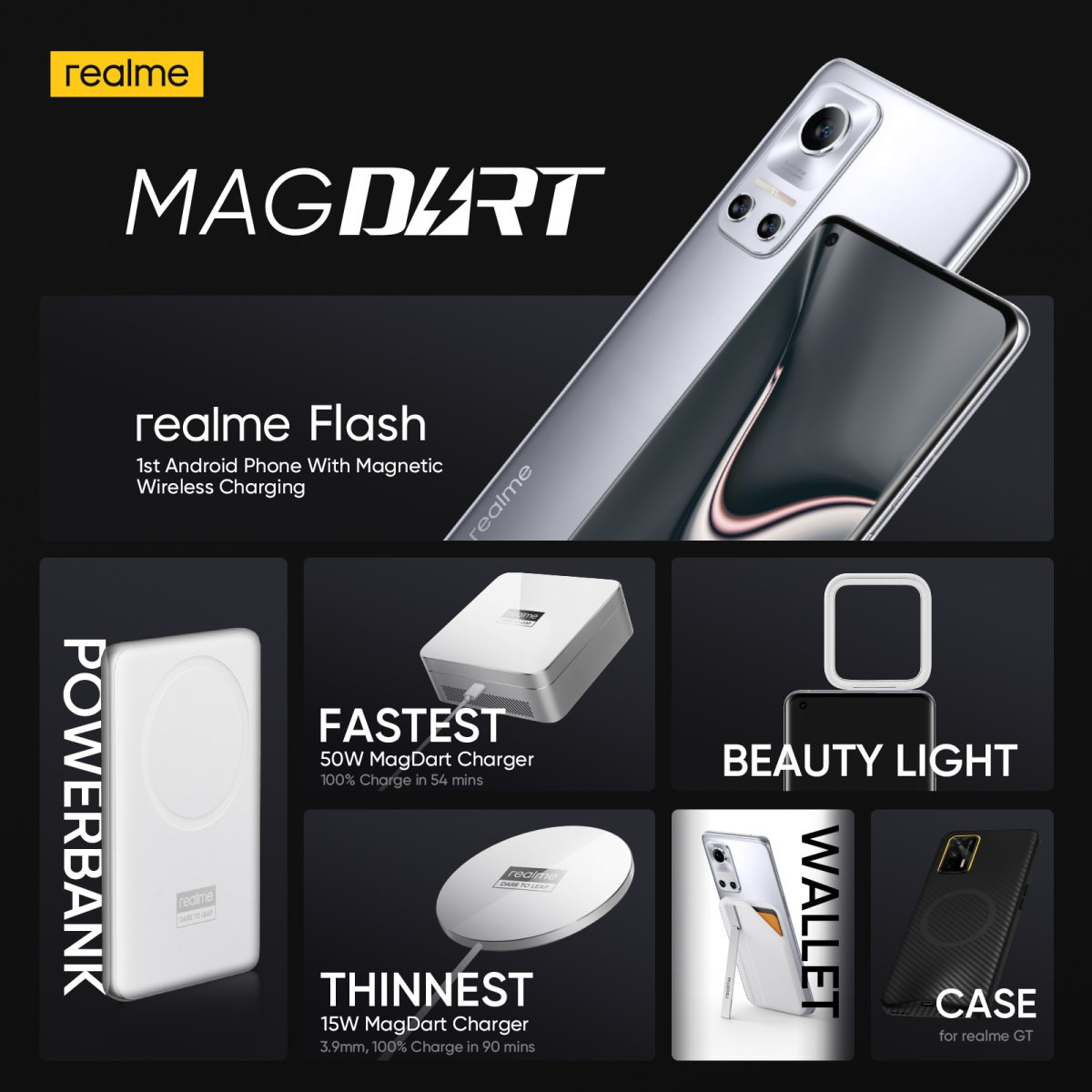 Realme MagDart just declared as the principal genuine MagSafe contender for Android