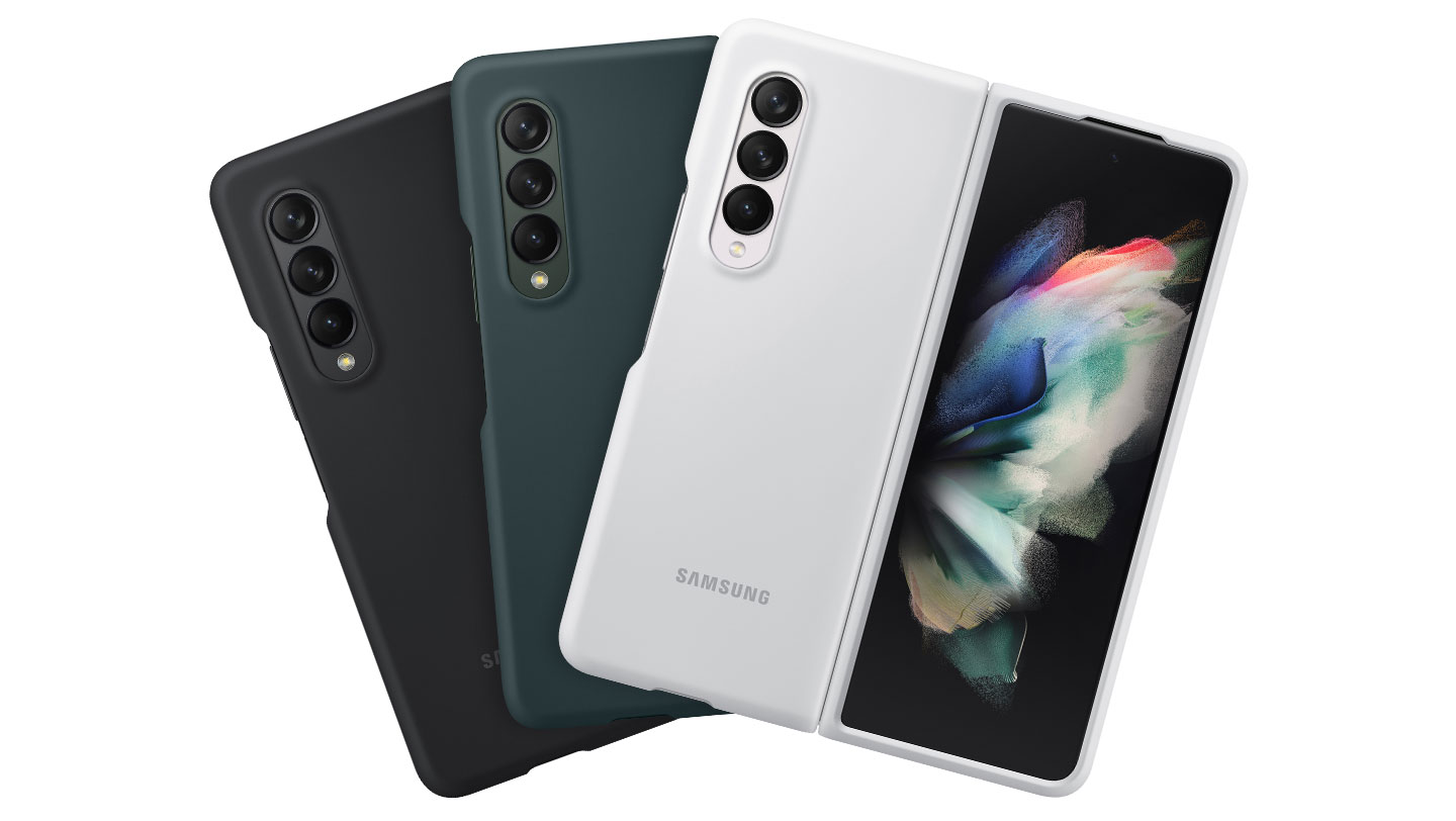 Samsung Silicone Cover best Galaxy Z Fold 3 Cases