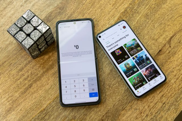 How to set a budget in the Google Play Store